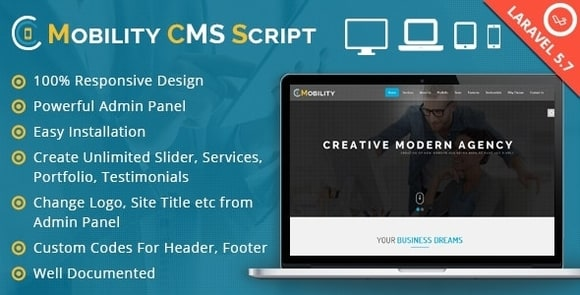 Mobility CMS Script Free Download Nulled