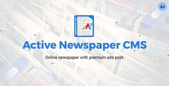 Active Newspaper CMS Nulled