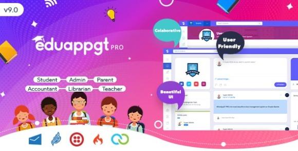 EduAppGT Pro School Management System Nulled