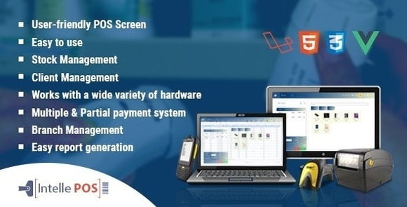Intelle POS With Inventory System Nulled Script