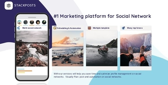 Stackposts Social Marketing Tool Nulled
