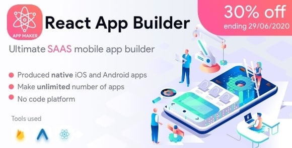 React App Builder - SaaS - Unlimited Number of Apps Nulled