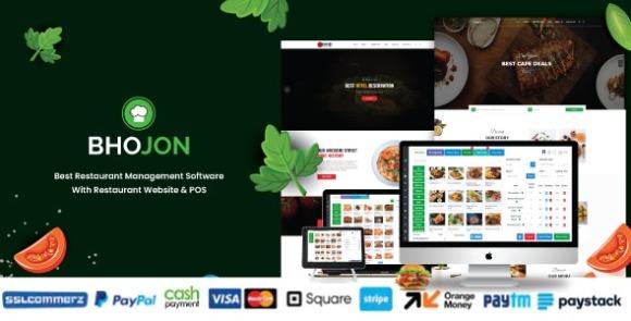 Bhojon v2.8 Nulled – Best Restaurant Management Software with Restaurant Website