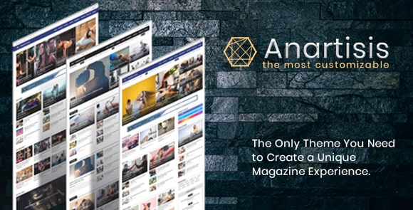 Anartisis News and Magazine Blogger Theme Nulled