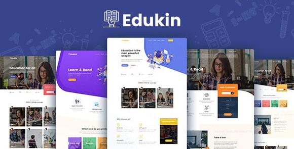 Edukin Education HTML Template Download