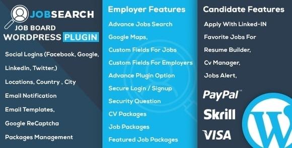 JobSearch v1.7.9 – WP Job Board WordPress Plugin Free