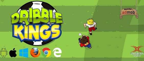 Dribble Kings HTML5 Football Game Source Code Download