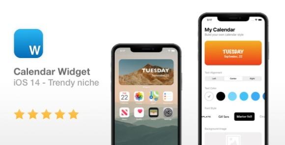 Calendar Widget NEW iOS 14 Widget App Source Code