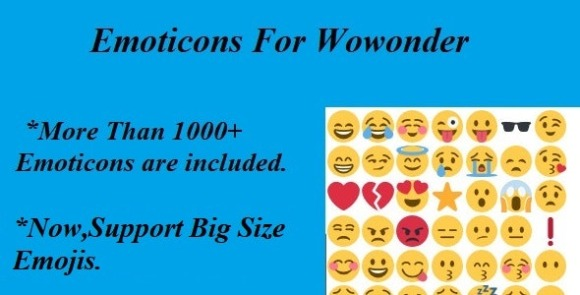 Emoticons For Wowonder Addon Download