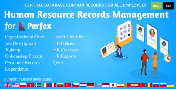 HR Records for Perfex CRM Addon