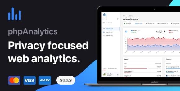 phpAnalytics Web Analytics Platform PHP Script