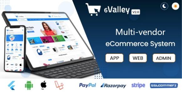 6valley Multi-Vendor E-commerce Complete eCommerce Mobile App
