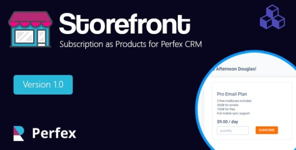 Products and Services for Perfex CRM Addon Download
