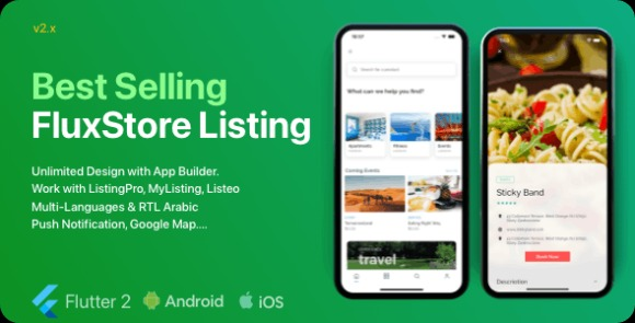 FluxStore Listing The Best Directory WooCommerce App by Flutter