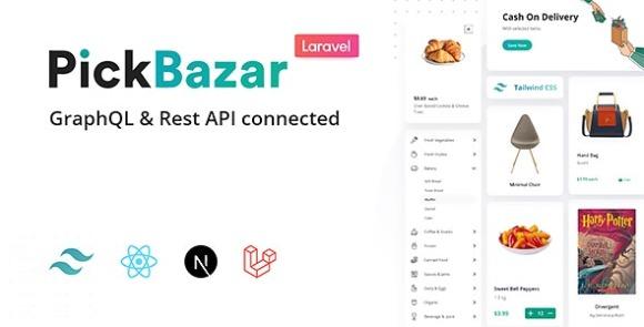 Pickbazar Laravel React Next Ecommerce with Multivendor