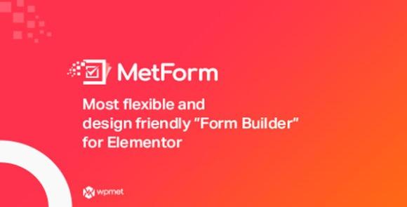 MetForm Advanced Elementor Form Builder