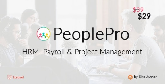 PeoplePro HRM Payroll and Project Management Script
