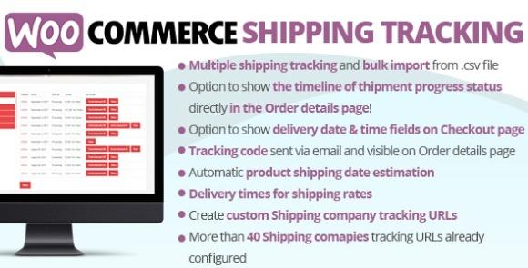 WooCommerce Shipping Tracking v29.2 – WordPress Plugin