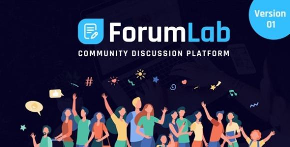 ForumLab v1.0 – Community Discussion Platform Script