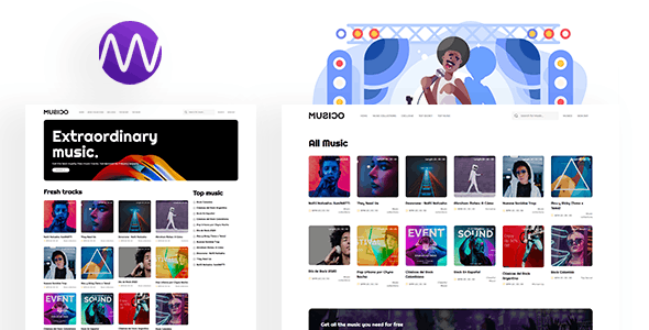 MUSICO v1.1 – Premium Music Download System with Website PHP Script
