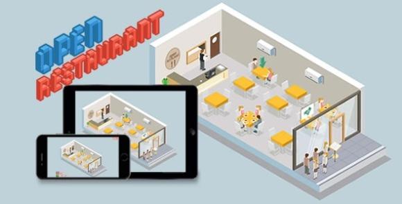 Open Restaurant v1.5 – HTML5 Game App Source Code