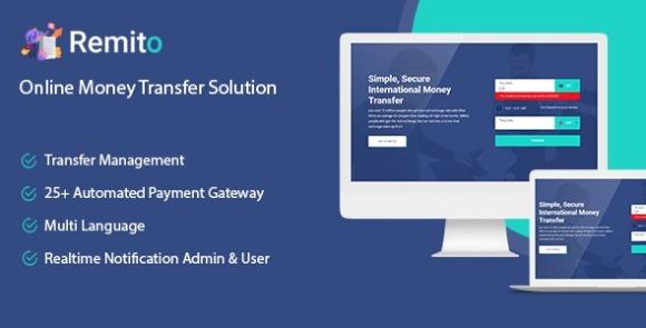 Remito v1.0 – Online Money Transfer Solution PHP Script