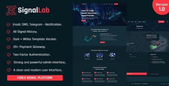 SignalLab v1.0 Nulled – Forex and Crypto Trading Signal Platform