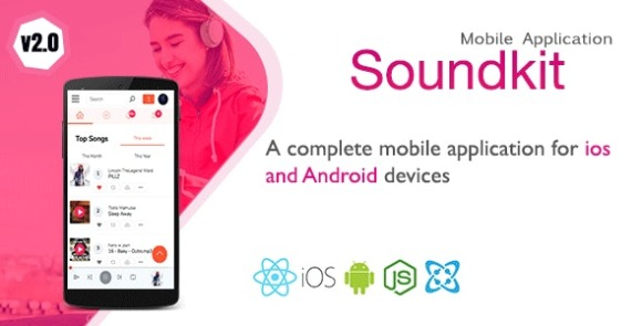 Soundkit v1.4.0 – Mobile Application for iOS and Android App