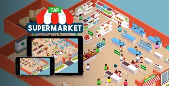 Tap Supermarket v1.2 – HTML5 Game Source Code