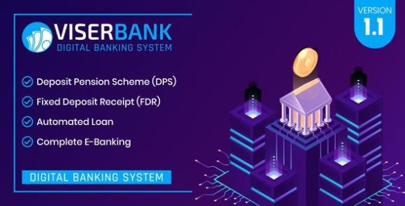 ViserBank v1.1 – Digital Banking System PHP Script